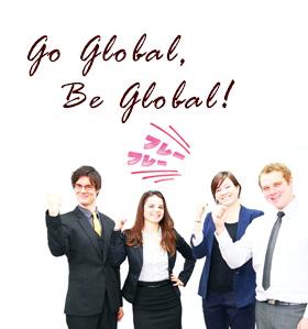 Go global,Be global